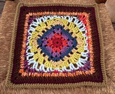 "12"" Granny Pattern by Woodshoppe1. Easy pattern. A granny square pattern with a twist. Available for free on Ravelry."
