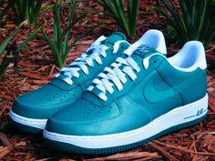 """Nike Air Force 1 """"Lush Teal"""" If I had to choose one style of shoes to wear for the rest of my life it would be NAF1's...now doubt."""