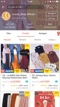 Casual Hijab Outfit, Hijab Chic, Shopping Websites, Online Shopping Stores, Online Shop Baju, Best Online Clothing Stores, Korean Street Fashion, Diy Fashion, Outfits