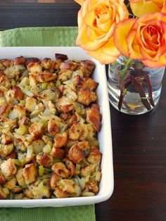 Herbed Bread Stuffing | 25 Delicious Stuffing Recipes For Thanksgiving