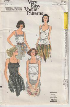 Vogue Patterns, Star Patterns, Sewing Patterns, Straight Skirt, Vintage Vogue, Princess Seam, Hemline, Size 14, Pullover