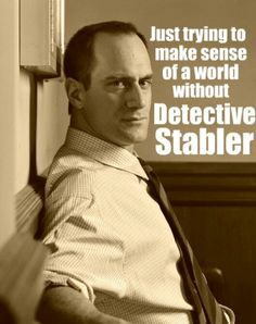 Miss him!!! Law and Order svu  Olivia Benson will never be the same without him