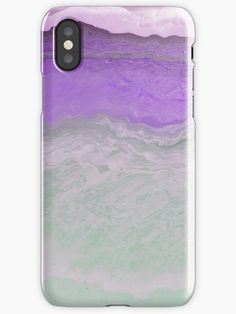 An artistic abstract piece of art representing a sandy beach with a pink sea. Romantic violet mood. Phone and pad cases. Iphone Wallet, Iphone 11, Iphone Case Covers, Art Pieces, Finding Yourself, Samsung Galaxy, Romantic, Sea, Mood