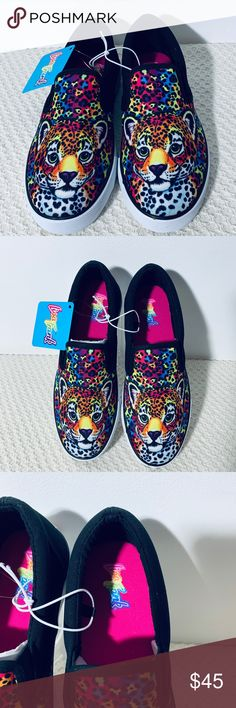 2de7dfafab56 Lisa Frank Hunter Slip On Sneakers Adult Sizes Brand New With Tags. No Box.