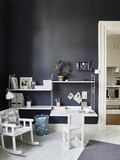 We present you the latest trend in Kids decor and the trendy ideas to nursery and bedrooms for boys and girls Kids Workspace, Creative Kids Rooms, Deco Kids, Kid Desk, Kids Bedroom Furniture, Kids Room Design, Kids Decor, Home Decor, Recycled Furniture