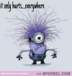 It Only Hurts…