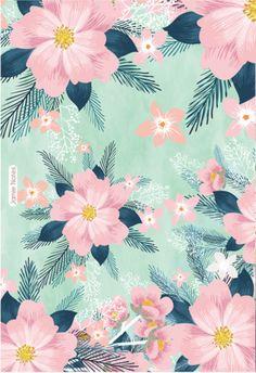 Tropical Wallpaper, Colorful Wallpaper, Flower Wallpaper, Screen Wallpaper, Mobile Wallpaper, Pattern Wallpaper, Flower Backgrounds, Wallpaper Backgrounds, Aesthetic Iphone Wallpaper