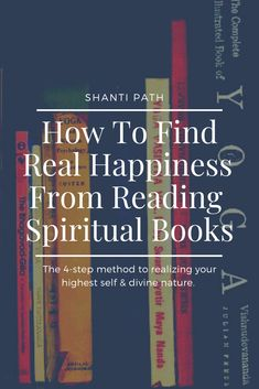 The method to realizing your highest self divine nature. Get the most out of reading any spiritual book and discover the inner happiness that has been there all along! What Is Meditation, What Is Yoga, Daily Meditation, Meditation Practices, Spiritual Practices, Healing Words, Spirituality Books, Meditation Techniques, You Know Where