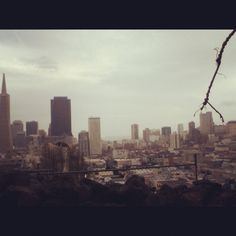 On our way to coit tower