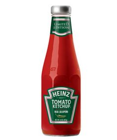 *NEW Coupon* Save $0.50 off Heinz Ketchup Blended with Real Jalapeno ~ YUM!  I NEED to try this!