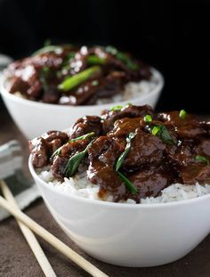 Mongolian Beef Recipe - This Mongolian Beef recipe is as good as any restaurant you will eat at! Enjoy it at home without the cost of eating out!