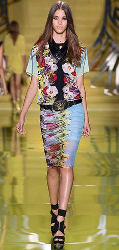 Versace Donna Fashion Show Look 28