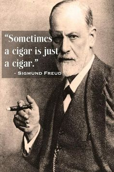 About cigars | Sigmund Schlomo Freud
