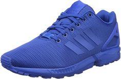 adidas Herren Zx Flux Turnschuhe, Blau (Blue/Blue/Boblue), 45 1/3: Amazon.de: Schuhe & Handtaschen Adidas Zx Flux, Lace Up Heels, Nike, Adidas Originals, Running Shoes, Adidas Sneakers, Collection, Mesh, Closure