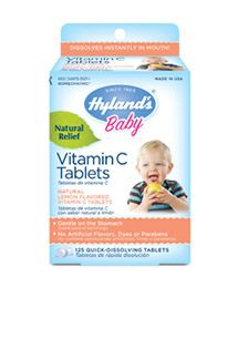 We all know how much Vitamin C certain fruits and vegetables contain. But for children under 3, giving them their recommended daily allowance is a huge challenge for parents. Squash popsicles can ruin a perfectly good day. Our Vitamin C tablets are a sure hit. They dissolve quickly and deliver 71% of the daily value for babies under a year, and 63% for kids between 1-3 years. Of course, there will be plenty of time for beet smoothies during kindergarten.