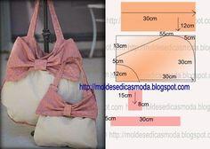 Шьём сумка из ткани своими руками. Выкройка сумки.Sew a bag made of fabric with your hands. Pattern handbags.