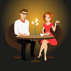 Does dating ever start to feel like a chore? Here are some tips to help identify when a break from dating is needed, and help figure out how to enjoy dating again! Senior Dating Sites, Dating Apps, Dating Advice, Christian Dating Site, Christian Men, Coffee Vector, Couple Illustration, Dating Again, Single Dating