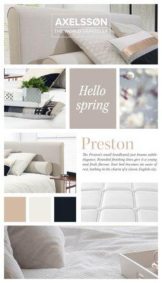Preston Bed - Axelsson bedroom   Inspiration for a cosy bedroom   www.axelssonbeds.eu