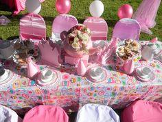Princess tea party set-up by Co-Ords Kidz Party Boutique