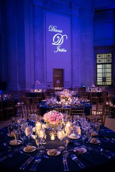 50 romantic starry night wedding ideas you can't resist 43 Party Decoration, Reception Decorations, Wedding Centerpieces, Wedding Table, Wedding Reception, Tent Wedding, Purple Wedding, Wedding Colors, Dream Wedding