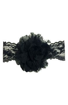 Baby+Bling+Lace+&+Chiffon+Headband+(Baby+Girls)+available+at+#Nordstrom