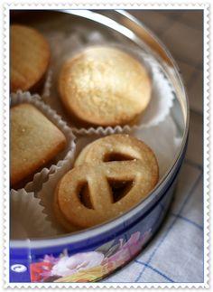 Biscotti danesi al burro – Danish butter cookies