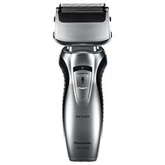 Panasonic Dual-Blade Electric Razor, Cordless, Wet or Dry Operation: 100 percent washable travel shaver, rinses clean in seconds under warm running water, includes shaver cleaning brush to help remove stubborn shaving gel and stubble. Braun Shaver, Mens Shaver, Shaving Machine, Grooming Kit, Hair And Beard Styles, Wet And Dry, Brush Cleaner, Blade, Health And Beauty