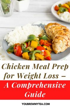 Here are some easy chicken meal prep ideas for weight loss. Healthy recipes can become boring after a while, especially when you are dieting; however, You Brew My Tea have mixed things up and designed some great dishes to keep you satisfied while watching your waistlines. Go check them out. #chickenmealprep #mealprepideas #weightlossmealprep #healthychickenweightlossmeals
