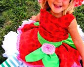 Strawberry shortcake costume!