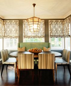 Schumacher Chenonceau Custom Roman Shades (comes in many colors)