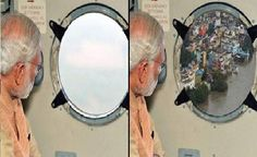 PIB posts morphed pic of PM's aerial survey in Chennai