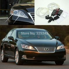 32.68$  Watch now - http://aiqc8.worlditems.win/all/product.php?id=32796297679 - For Lexus ES350 ES240 2007 2008 2009 2010 Excellent CCFL Angel Eyes kit Ultra bright headlight illumination angel eyes Halo Ring