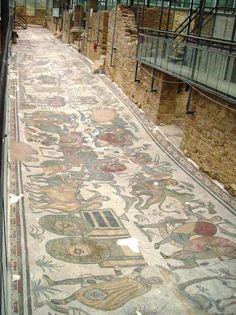 Villa romana del Casale. Piazza Armerina. Sicilia.