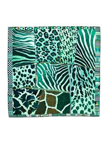 """Pelages et Camouflage"" Silk Twill Scarf 90cm by Hermès at Gilt"