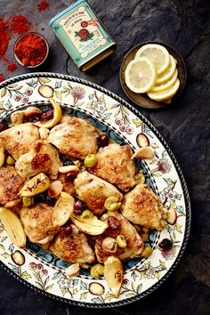 Spanish Chicken with Smoked Paprika, Lemon & Olives