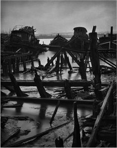 Boat Graveyard, Staten Island, New York, 2010 © Mark Seliger