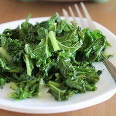 Garlic Cooked Kale!♡