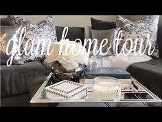Living & Dining Room Tour w/ Christy Mel - Pre Fall 2016 Small Living Room Furniture, Living Room Kitchen, My Living Room, Interior Design Living Room, Living Room Designs, Living Room Decor, Dining Room, Thrifty Decor, Diy Home Decor
