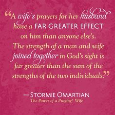 PRAYING THE THE POWER OF WIFE