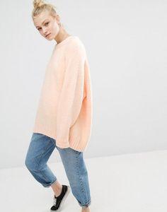 Monki Soft Knit Oversized Jumper