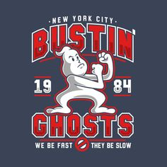 New York City Bustin' Ghosts - Ghostbusters - T-Shirt Horror Shirts, Nerd, Ghost Busters, Thing 1, Custom T, New York City, Graphic Tees, Shirt Designs, Shopping