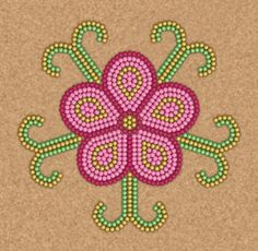 Don't Eat the Paste: Alaskan Fry Bread- printable recipe!Don't Eat the Paste: Alaskan Fry Bread- printable recipe! Native Beading Patterns, Beadwork Designs, Native Beadwork, Native American Beadwork, Beaded Jewelry Patterns, Bracelet Patterns, Bead Patterns, Seed Bead Flowers, Beaded Flowers