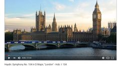 Sinfonía Londres