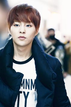 Kim Min-seok 김민석 (Xiumin 시우민) was born in South Korea March 26, 1990 making him the oldest of the 12.