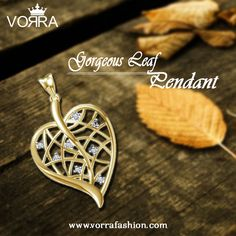 Buy this Gorgeous Leaf pendant and more alluring jewellery pendants @ Vorra-Fashion Forever  GET FLAT 25% OFF ON ALL PURCHASES #LeafPendant Use Code : YR01 to avail Discount   http://www.vorrafashion.com/jewellery/pendant/casual/betal-nut-leaf-pendant-online-india-481.html