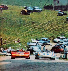 Targa Florio; Alfa Romeo T33 & Porsche 908