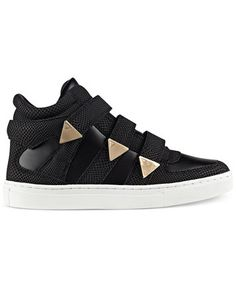 GUESS Women's Jailo Velcro Sneakers | macys.com - Size 10