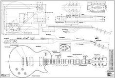 Full Scale LP Custom Plan - Guitar bodies and kits from BYOGuitar