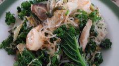 Stir Fry Glass Noodles, Sauteed Greens, Shrimp, Fries, Cabbage, Spaghetti, Pork, Vegetables, Ethnic Recipes