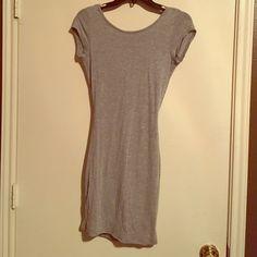T-Shirt Dress Open back, worn twice Dresses Mini